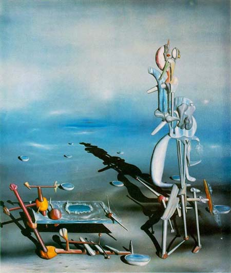 Infinite divisibility 1942 Yves Tanguy